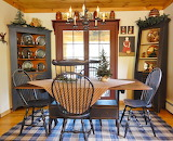 ^ Country Christmas breakfast room