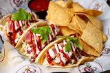 ^ Seared Tuna Tacos