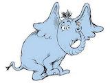 """""""Children's Tales"""" Horton """"Dr. Seuss"""" Elephant"""