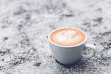 Cappuccino In The Snow