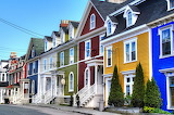^ Jellybean Row - St. John's, Newfoundland