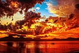 Fiery sunset, credit: Amateur Pic(500px)