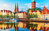 colorful city in Germany