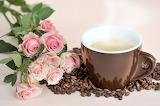 Coffee Roses Cup Grain Vapor