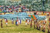 Peru, Sacsayhuaman, Inti Raymi festival
