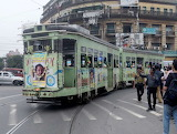 Trains - Tram - Kolkata India