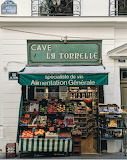 Shop grocer Paris France