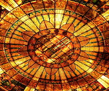 Stained-glass-ceiling-