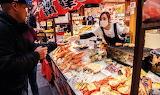 Japan, Osaka, Kuromon Ichiba market