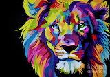 Spunky Lion
