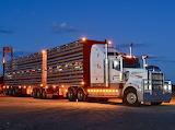 Kenworth T909 livestock carrier
