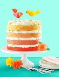 Birds on a cake