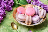 colored macaroons, macaron