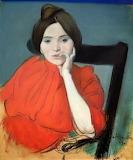 Louis Anquetin, Portrait de femme, 1890