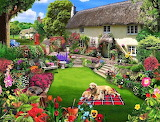 #A Beautiful Home with a Garden