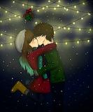 Kissing under the mistletoe by nhiluu97