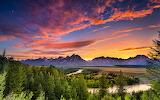 Grand Teton National Park,Wyoming,USA