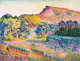 Landscape with Cape Negre by Henri-Edmund Cross 1901