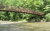 Footbridge over Ten Mile River