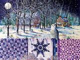 Snowy Indigo Evening~ DianePhalen