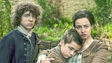 Fergus Young Jamie and Jemmy watch Ian taken by redcoats