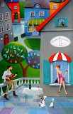 Moonlight Cafe - Iwona Lifsches