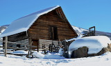 Steamboat Barn in Winter Steamboat Springs Colorado USA
