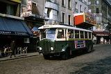 Paris Pigalle 1970 Paris RATP, autobus TN4F de la ligne 67