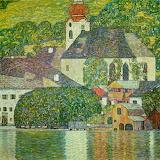 Church in Unterach on the Attersee, 1916 by Gustav Klimt