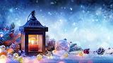 Christmas-decorations-spruce-snow-lampar 3