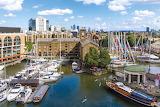 St Katharine Docks London