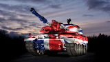Challenger 2 Union Jack