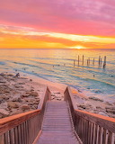 Sunset at Port Willunga Australia