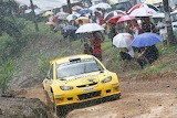 Rally Proton in the rain