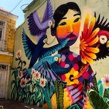 Street Art. Valparaiso. Chile