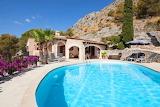 rural villa and pool in spain