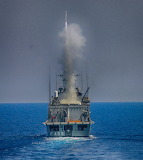The Greek frigate Salamis (F-455) photo by Nick Thodos