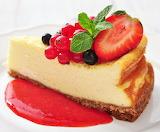 Cake & berries