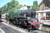 North Yorkshire Moors Railway #80135 At Grosmont, UK