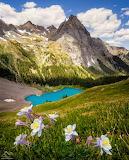 Lago montañas006