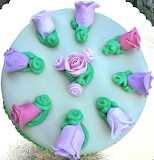 Rotate the cake flowers @ Rilassati e Decora