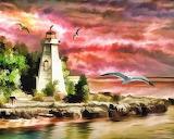 Broody Lighthouse