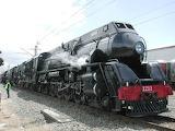 NZ 1211 steam train