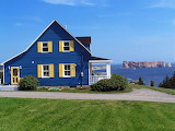 Blue cottage