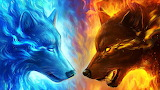 Fire Wolves
