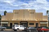 Art Deco Texas Memorial Hall, Queensland, Australia
