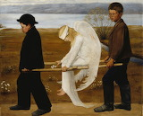 Hugo Simberg: Haavoittunut enkeli (1903)
