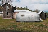 Vintage Airstream Camping