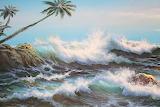 Crashing waves - H Gally