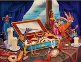 Inside the jewelry box